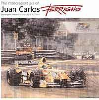 Motorsport Art of Juan Carlos Ferrigno - Front Cover
