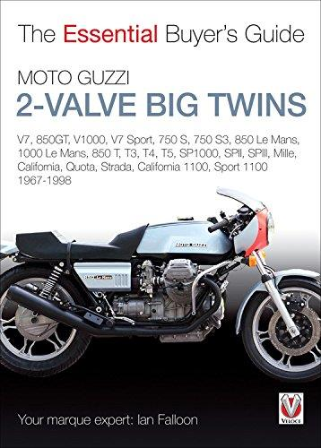 Moto Guzzi 2-Valve Big Twins 1967 - 1998 : The Essential Buyers Guide - Front Cover