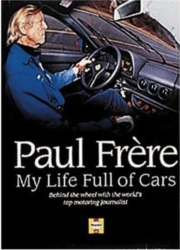 Paul Frere My Life Full of Cars - Front Cover