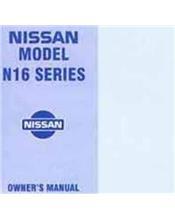 Nissan Pulsar N16 2001 Hatch Owners Manual