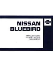 Nissan Bluebird U13 09/1994 Owners Manual