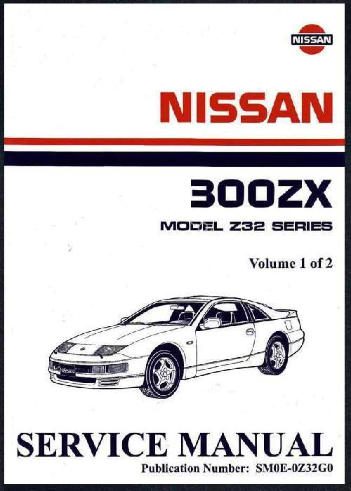 Nissan 300ZX (Z32) 02/1990 (Imported Models) Factory Service Manual - Front Cover