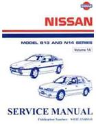 Nissan N14 Model B13 (NX Coupe) and N14 (Pulsar) Series Factory Manual
