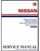 Nissan Diesel Engine (SD) Factory Service Workshop Manual Supplement - Front Cover