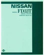 Nissan Model FD33T Diesel Engine Service Manual Supplement