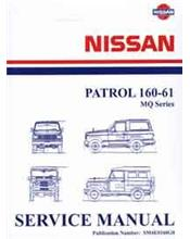 Nissan Patrol MQ 160-61 1982 Factory Service & Repair Manual