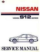 Nissan Gazelle (S12) 1984 - 1988 Factory Service Manual - Front Cover