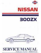 Nissan 300ZX (Z31) 1984 Factory Workshop Service Manual - Front Cover