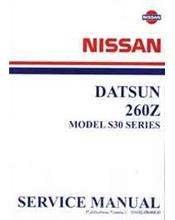 Nissan/Datsun 260Z (Model S30 Series) Factory Service Manual