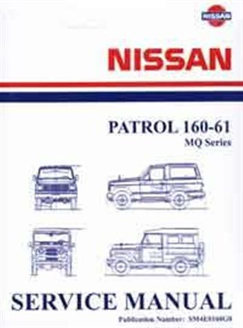Nissan Patrol MQ 160 - 61 1985 Repair Supplement 3