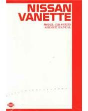 Nissan Vanette C120 1984 Factory Service & Repair Manual Supplement
