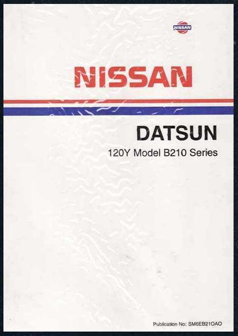 Nissan Datsun 120Y 1976 Factory Workshop Manual