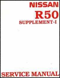 Nissan Pathfinder R50 1996 Factory Repair Manual Supplement 1