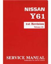 Nissan Patrol GU Y61 Series 1998 On Factory Service & Repair Manual