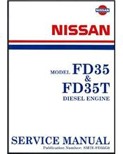 Nissan Cabstar & Civilian FD35 / FD35T Diesel Engine Factory Service Manual