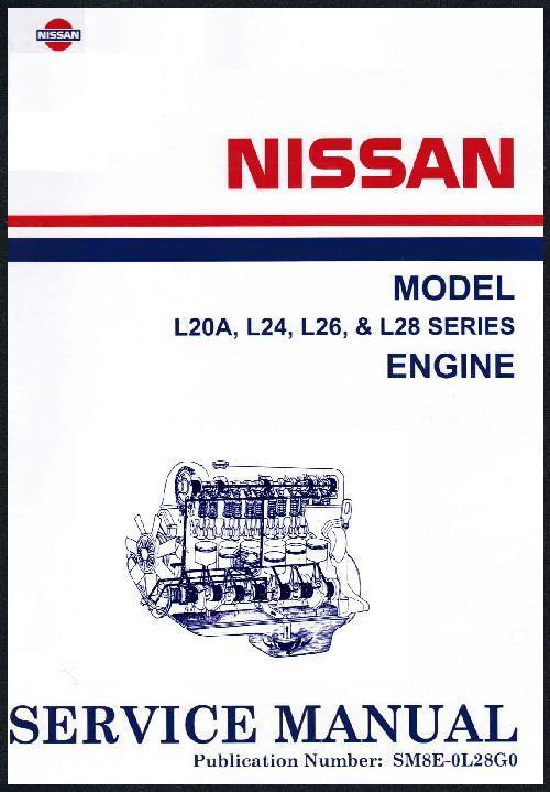 Nissan/Datsun Model L20A, L24, L26 & L28 Series Engine Service Manual - Front Cover