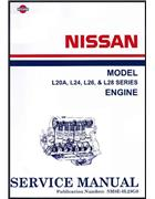 Nissan/Datsun Model L20A, L24, L26 & L28 Series Engine Service Manual