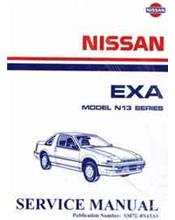 Nissan Pulsar EXA N13 1988 Factory Service Manual Supplement