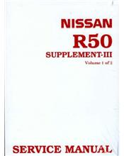 Nissan Pathfinder R50 1998 Factory Repair Manual Supplement 3