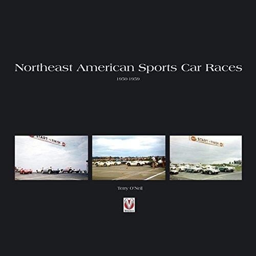 Northeast American Sports Car Races 1950 - 1959 - Front Cover