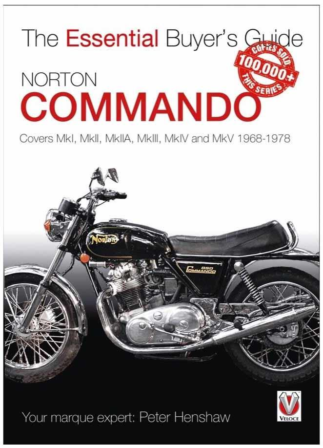 Norton Commando 1963 - 1978 : The Essential Buyers Guide - Front Cover