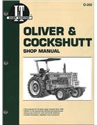 Oliver & Cockshutt Petrol & Diesel Farm Tractor Owners Service & Repair Manual - Front Cover