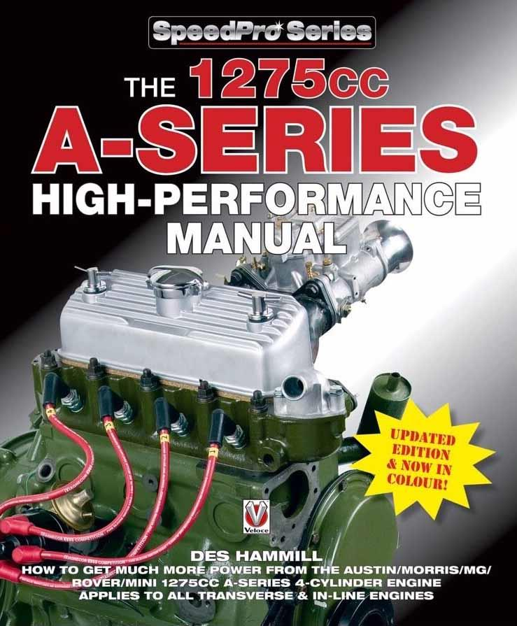 The 1275cc A-Series High Performance Manual - Front Cover