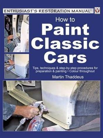 How to Paint Classic Cars - Front Cover