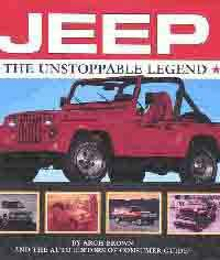 Jeep - The Unstoppable Legend - Front Cover