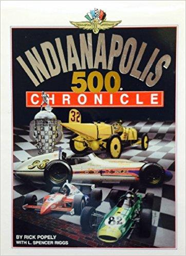 Indianapolis 500 Chronicle - Front Cover