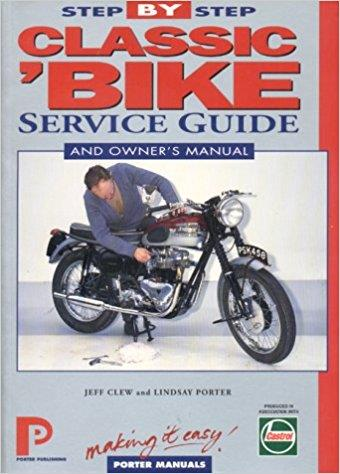 Classic Bike Step-by-step Service Guide - Front Cover