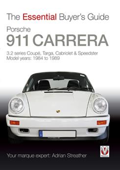 Porsche 911 Carrera 1984 - 1989 : The Essential Buyers Guide - Front Cover