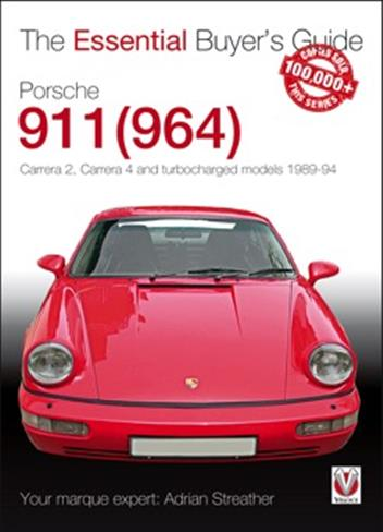Porsche 911 (964) 1989 - 1994 : The Essential Buyers Guide - Front Cover