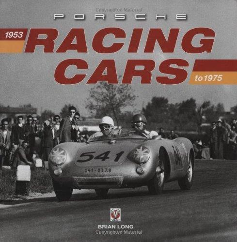 Porsche Racing Cars 1953 - 1975 - Front Cover