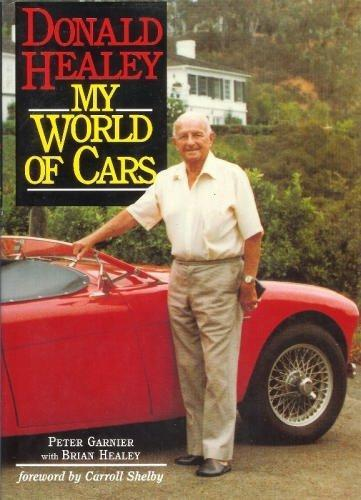 Donald Healey - My World of Cars - Front Cover