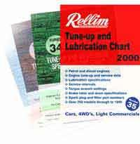 Rellim 35 Tune - Up Chart - Front Cover