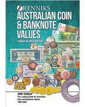 Renniks Australian Coin & Banknote Values (30th Edition)