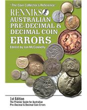 Renniks Australian Pre-Decimal & Decimal Coin Errors (1st Edition)