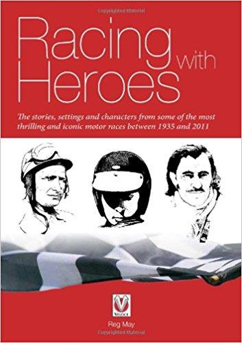 Racing with Heroes - Front Cover
