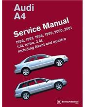 Audi A4 1996 - 2001 Service Manual