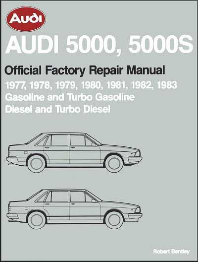 Audi 5000, 5000S (Petrol & Diesel) 1977 - 1983 Repair Manual