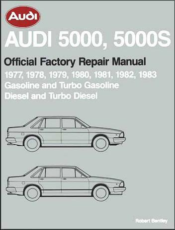 Audi 5000, 5000S (Petrol & Diesel) 1977 - 1983 Repair Manual - Front Cover
