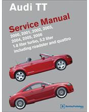 Audi TT Roadster & Quattro 2000 - 2006 Service Manual
