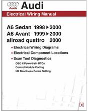Audi A6 Electrical (C5 Platform) 1998 - 2000 Wiring Manual
