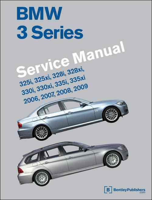 BMW 3 Series 2006 - 2009 (E90, E91, E92, E93) Service Manual - Front Cover