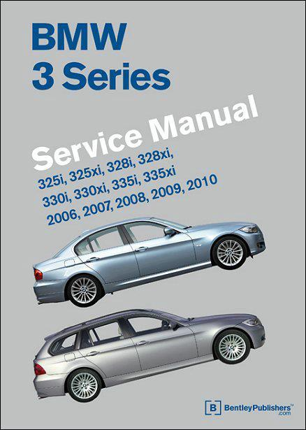 BMW 3 Series 2006 - 2010 (E90, E91, E92, E93) Service Manual - Front Cover