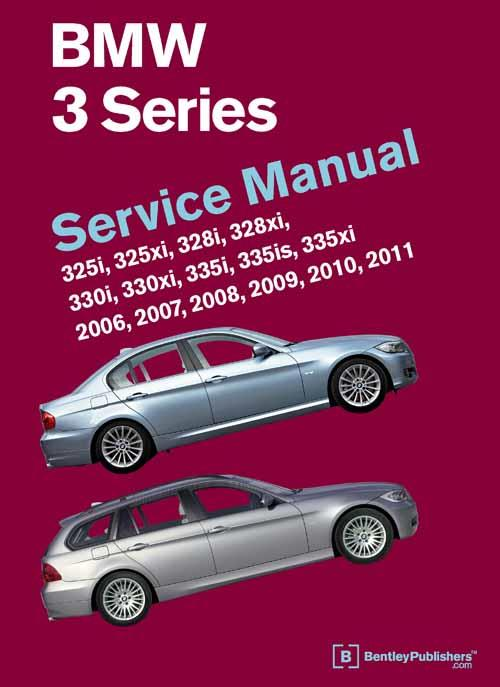 BMW 3 Series 2006, 2007, 2008, 2009, 2010, 2011 Service Manual - Front Cover