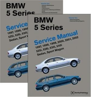 BMW 5 Series (E39) 1997 - 2003 Service Manual: 2 Volume Set - Front Cover