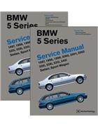 BMW 5 Series (E39) 1997 - 2003 Service Manual : 2 Volume Set - Front Cover