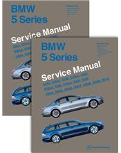 BMW 5 Series (E60, E61) 2004 - 2010 Service Manual: 2 Volume Set